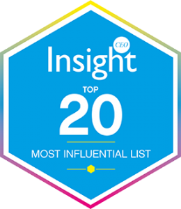CEO Insight's Top 20 Most Influential List
